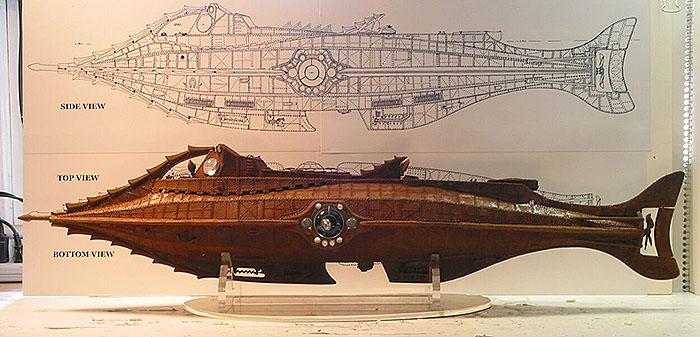 Version du Nautilus de Disney