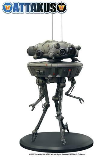 Figurine Probe Droid Star Wars de chez Attakus