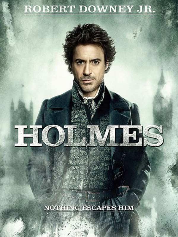 Robert Downey Jr dans Sherlock Holmes