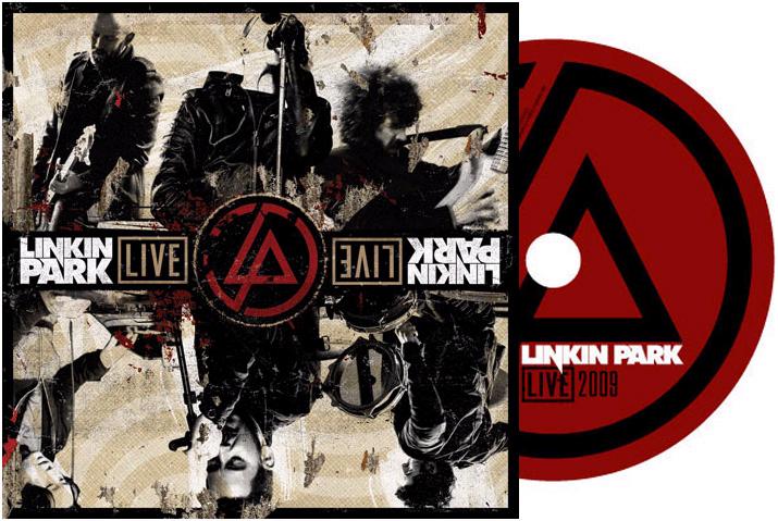 CDR gravé du groupe Linkin Park