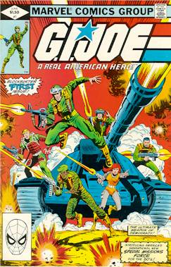 Image du Comics G.I. Joe (source : http://www.yojoe.com/comics/joe/j)