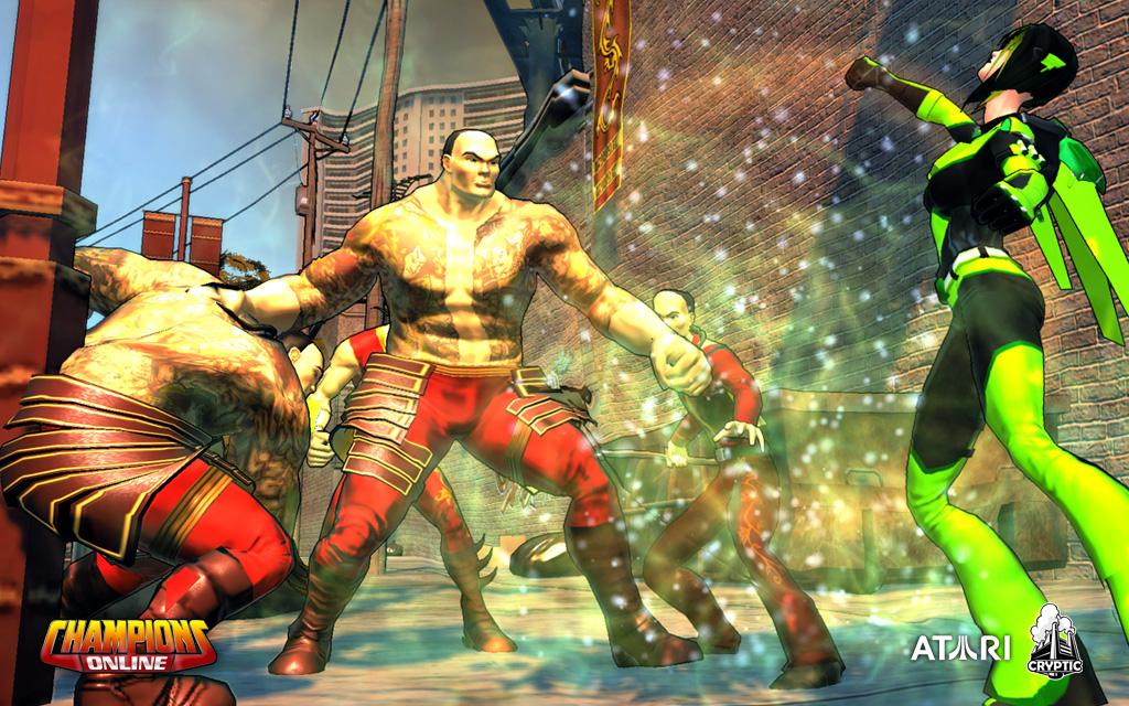 Screenshot du jeu Champion Online
