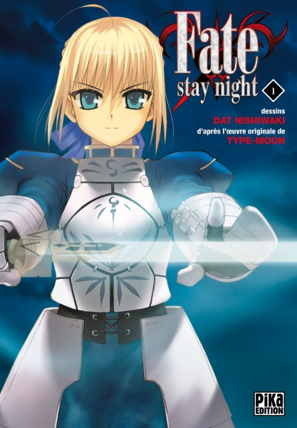Couverture du tome 1 de Fate / Stay Night