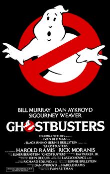 Affiche américaine de SOS Fantomes