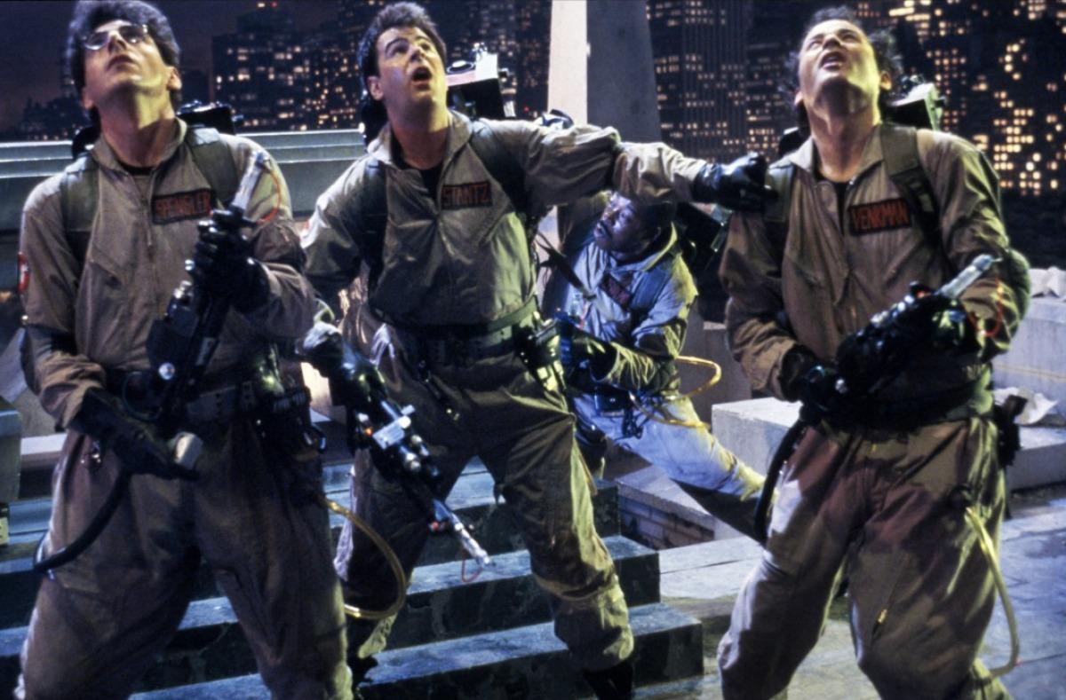 L'équipe des ghostbusters au complets