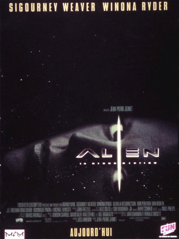 Affiche du film Alien 4
