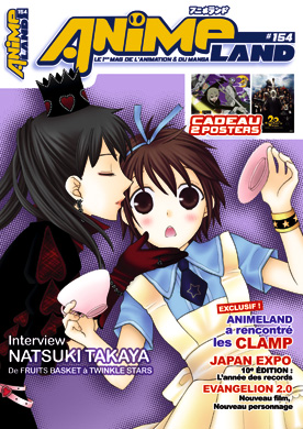 Animeland 154 couverture