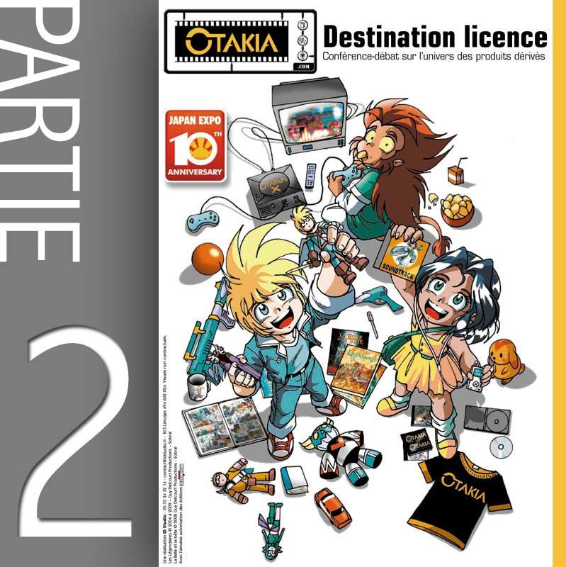Conférence Licencing et produit dérivé - Partie 2 : Fabrication d'un figurine (Japan-Expo 2009)