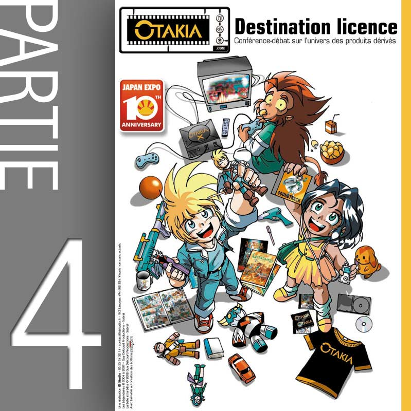 Conférence Licencing et produit dérivé - Partie 4 : Problématiques de diffusion (Japan-Expo 2009)