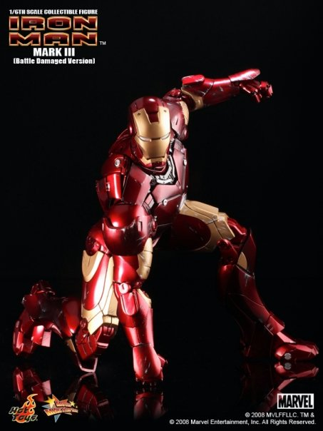 "figurine 12"" MARK III Figure (Battle Damaged Version)"
