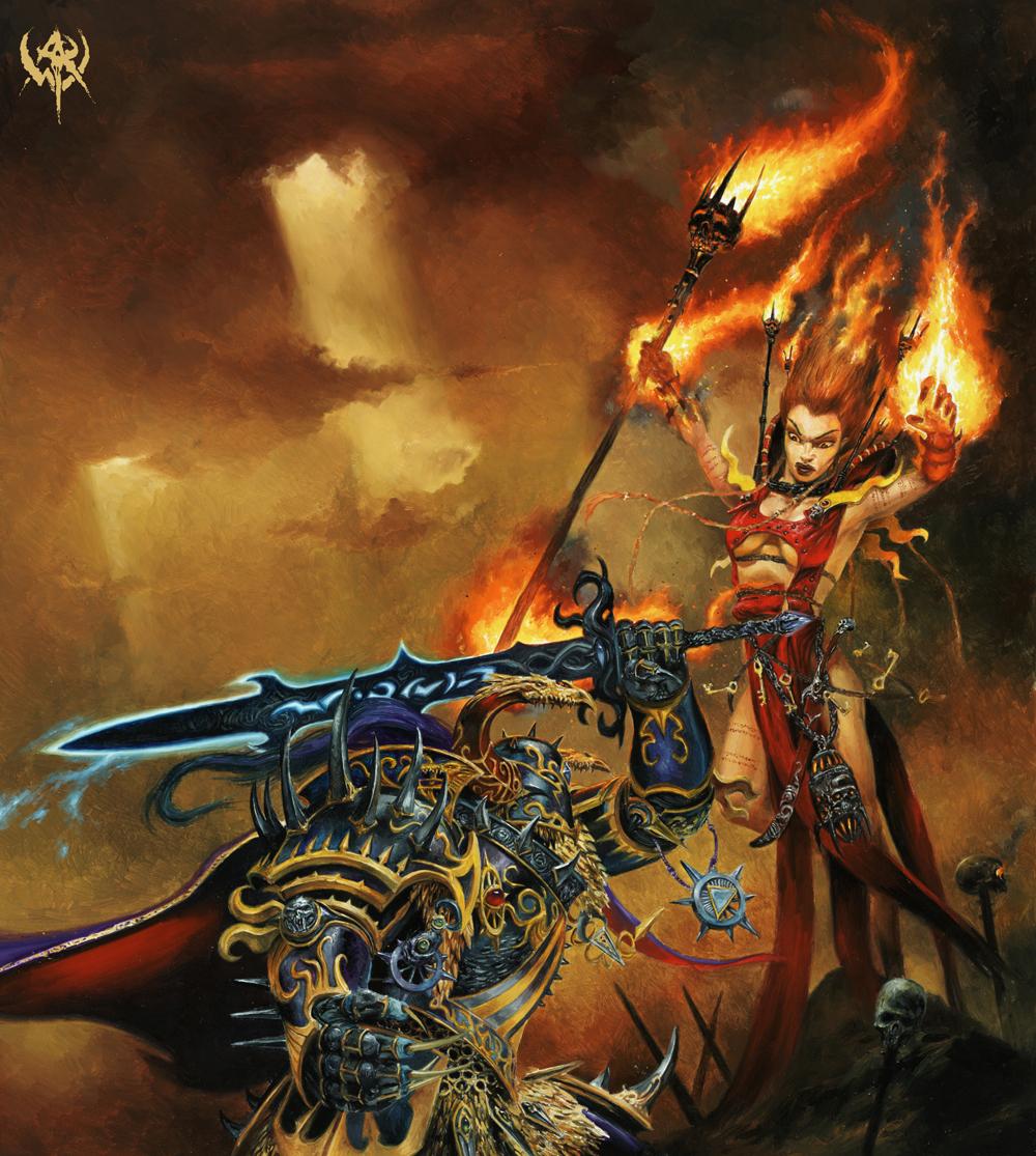Concept Art de Warhammer Online