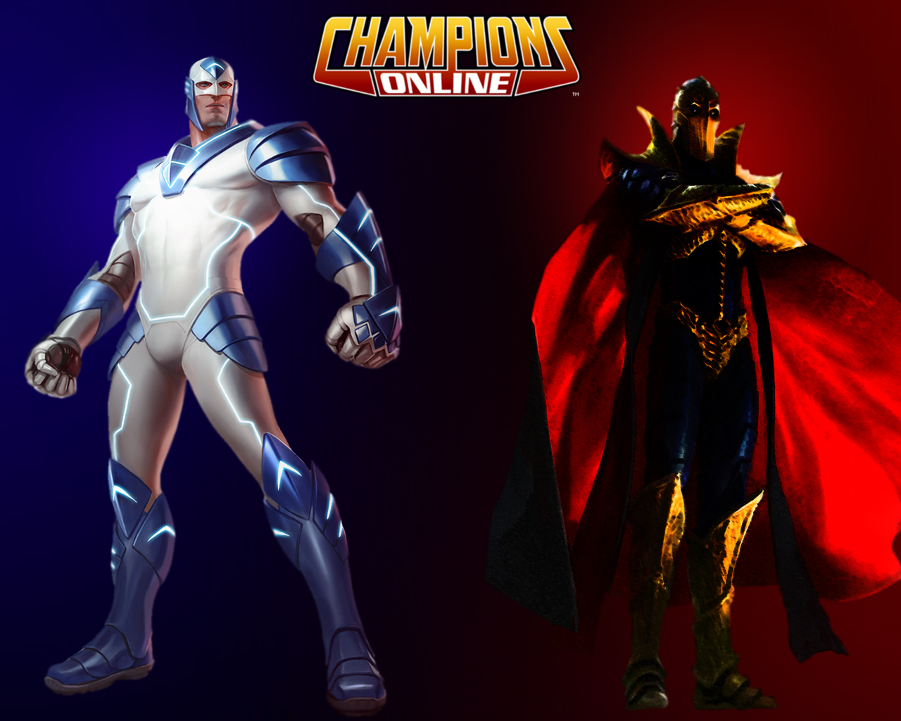 Concept Art de Champions Online