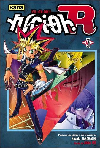 Couverture du tome 3 de Yu Gi Oh! R