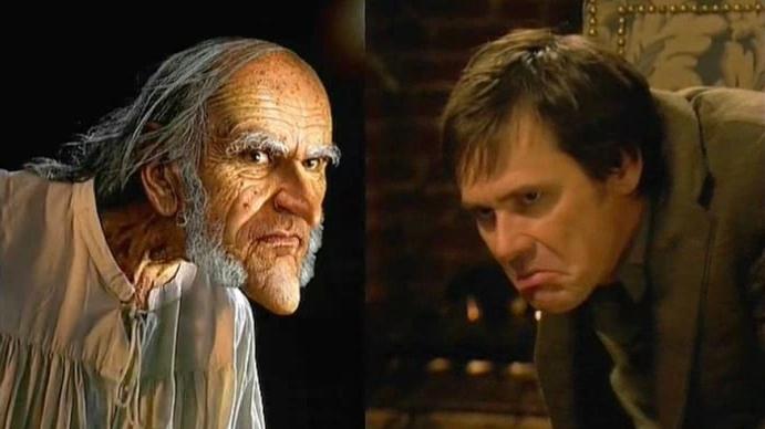 Jim Carrey vs Scrooge
