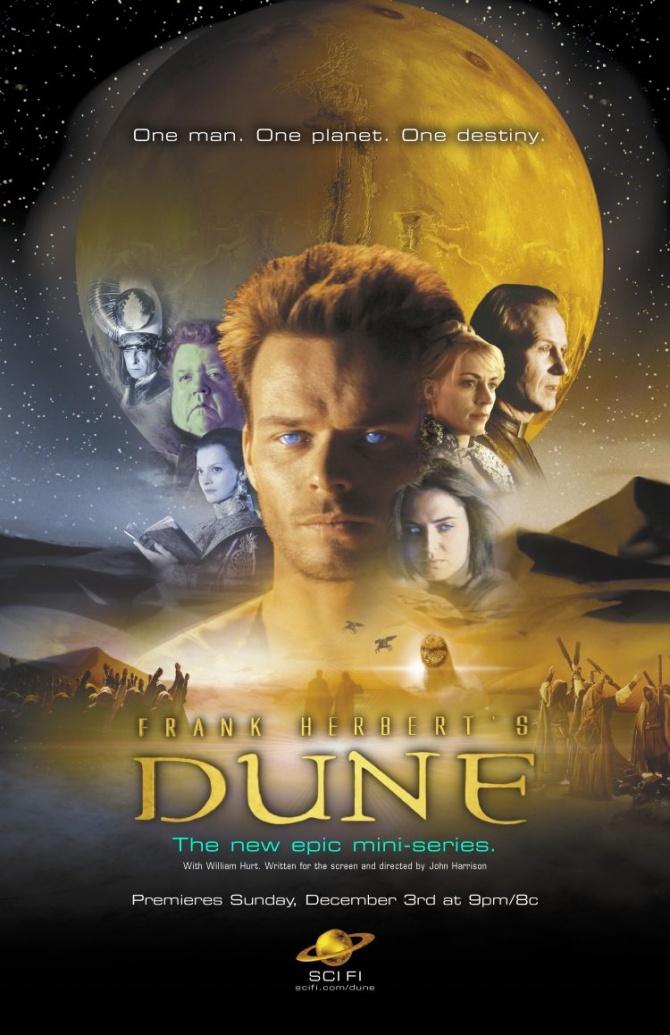 Affiche de la série TV dune