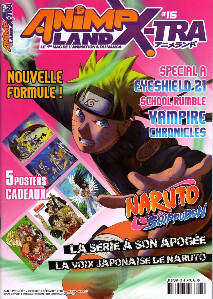 Couverture de l'Animeland X-Tra N°15