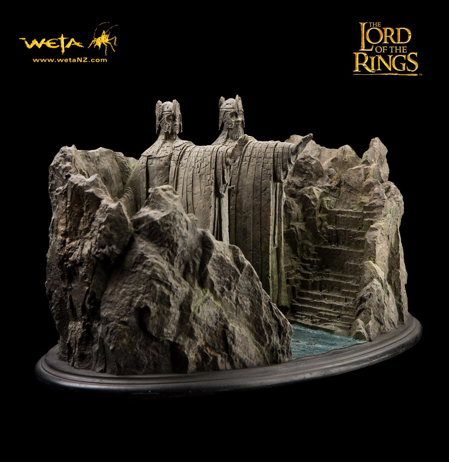 Figurine d'Argonath (Seigneur des Anneaux) par Weta