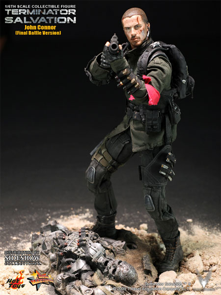 Figurine de John Connor de Terminator Salvation