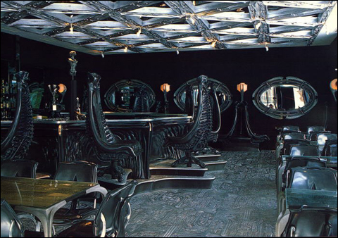 Bar par HR Giger