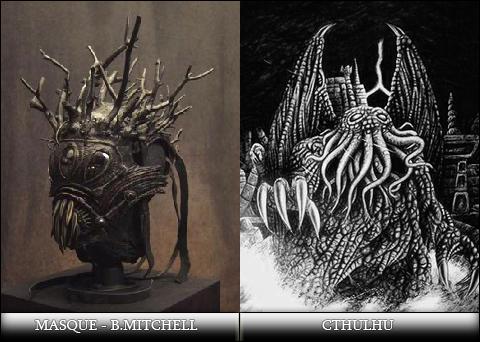 Masque Mitchell et Cthulhu