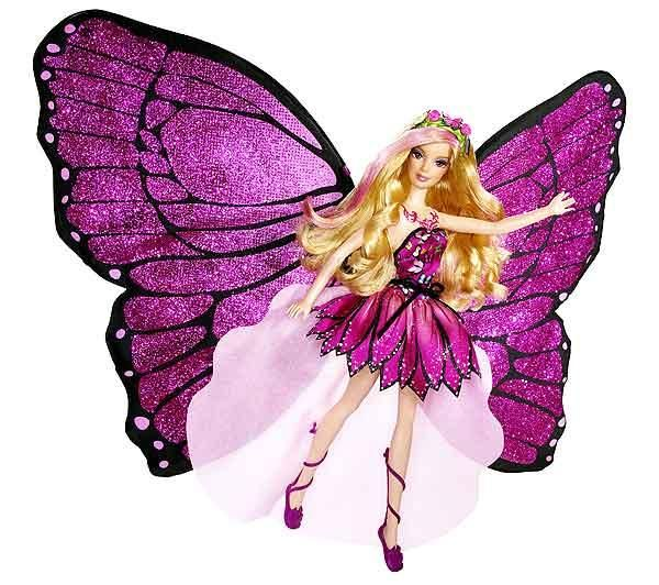 Barbie en papillon