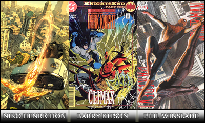 Niko Henrichon, Barry Kitson, Phil Winslade