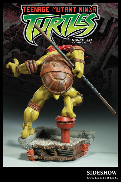 Photo d'une figurine Sideshow Collectibles de Donatello des Tortues Ninja