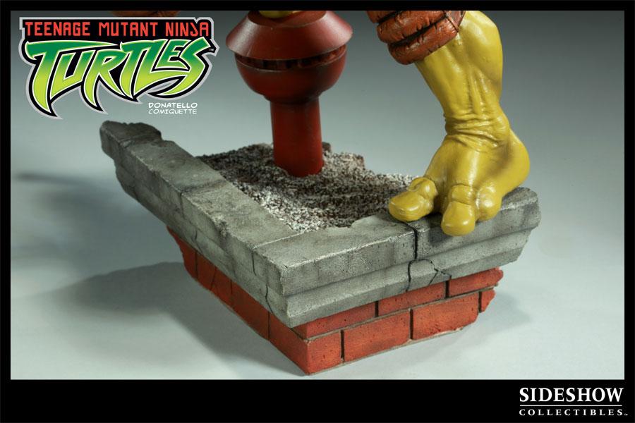 Photo d'une figurine Sideshow Collectibles de Donatello des Tortues Ninja