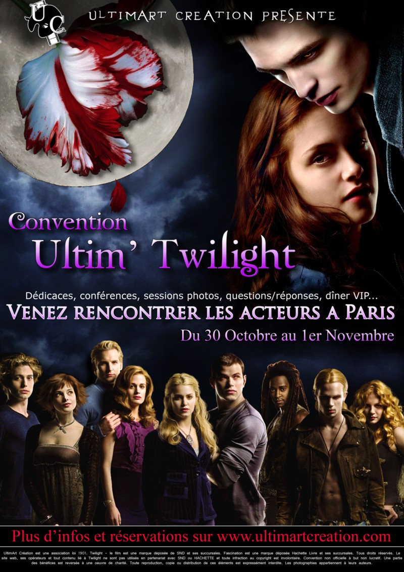 Affiche convention Twilight