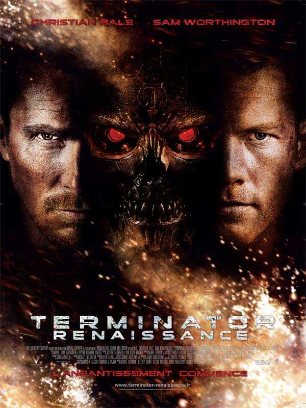 Affiche de terminator 4 Salvation