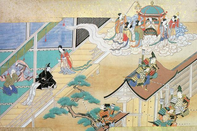 Représentation du conte de la princesse du bambou