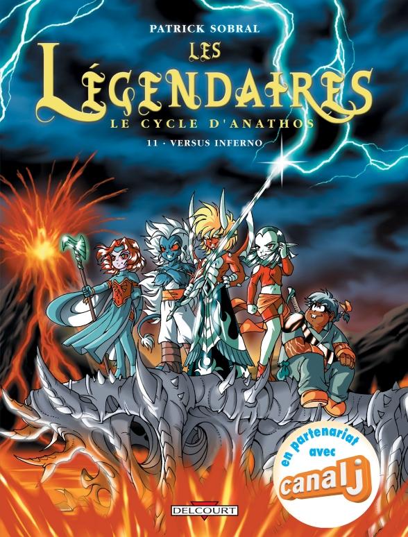Couverture du Tome 11 des Légendaires