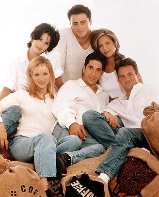 Photo officielle de la série TV Friends