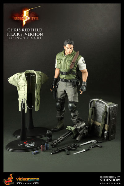 Figurine de Chris Redfield par Sideshow Collectibles