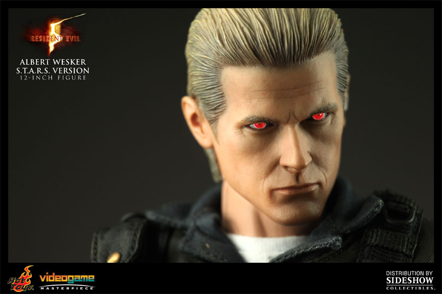 Figurine d'Albert Wesker par Sideshow Collectibles