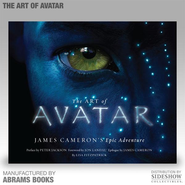Couverture du livre the Art of Avatar