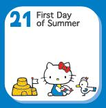 Hello Kitty Calendrier