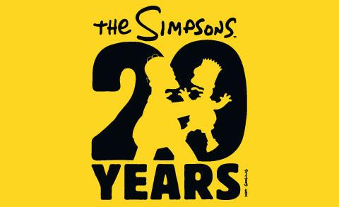 Image des 20 ans des simpson