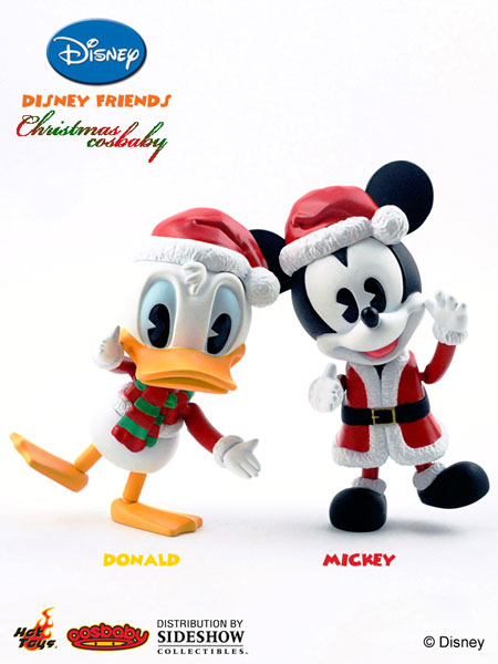 Disney Friends Christmas Cosbaby Set