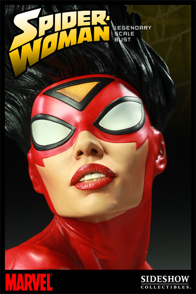 Buste Spiderwoman chez Sideshow Collectibles