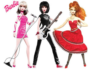 Barbie Ladies of the 80's