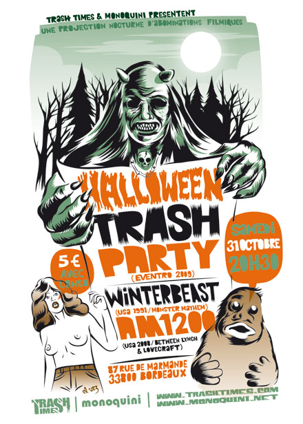 Affiche TrashTime
