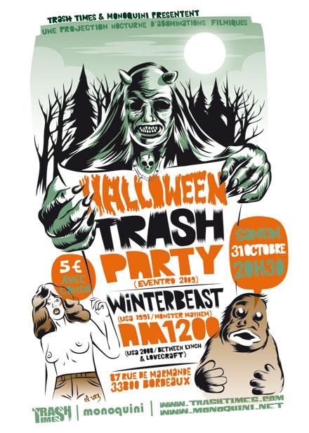 Affiche TrashTime