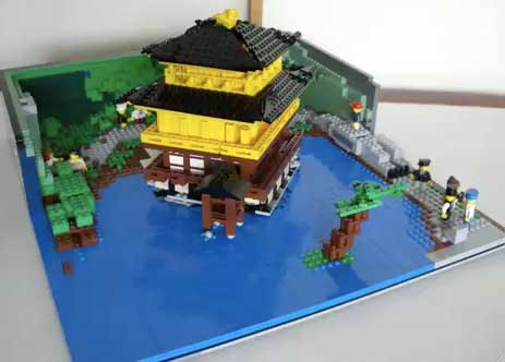 lego kinkaku-ji
