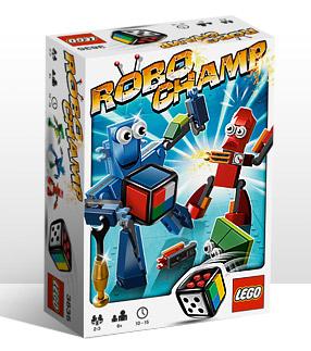 Boite du jeu Robot Champ