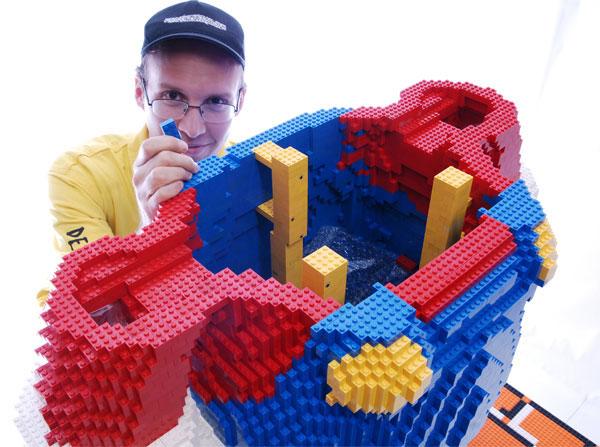Photo de Lego en consturction