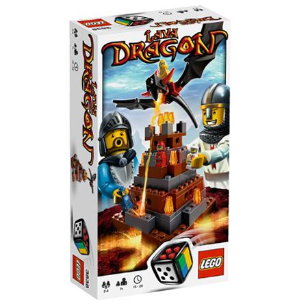Boite du jeu lava Dragon de Légo