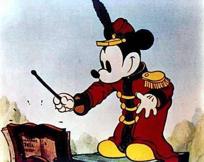 Ancienne image de Mickey Mouse