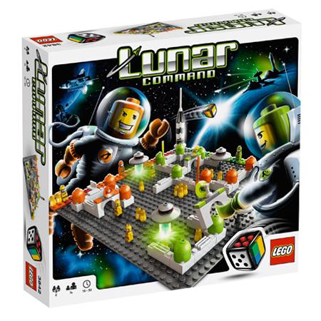Boite du jeu Lego Lunar Command
