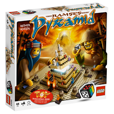Boite du jeu Lego Ramese Pyramid